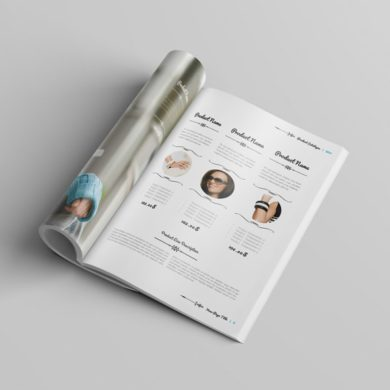 100 pages A4 Product Catalogue Template – kfea 2-min