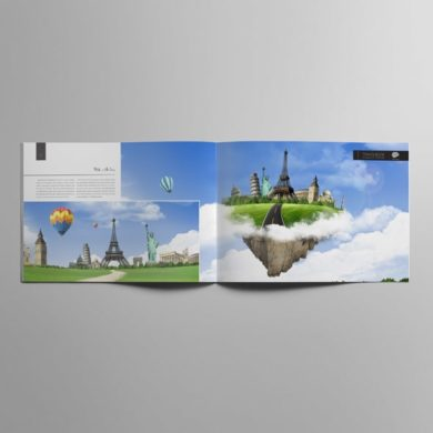 20 Pages A4 Travelbook Template – kfea 2-min