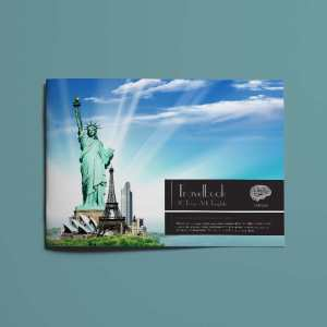 20 Pages A4 Travelbook Template