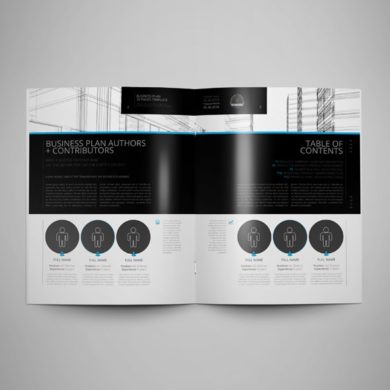 20 Pages Business Plan Template US Letter – kfea 5-min