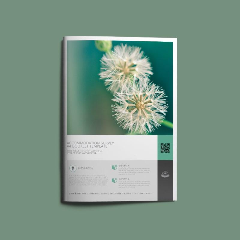 Accommodation Survey A4 Booklet
