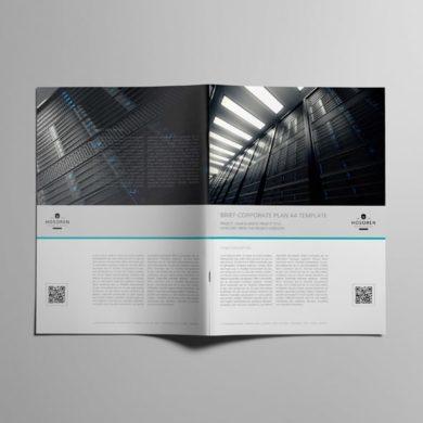Brief Corporate Plan A4 Template – kfea 2-min