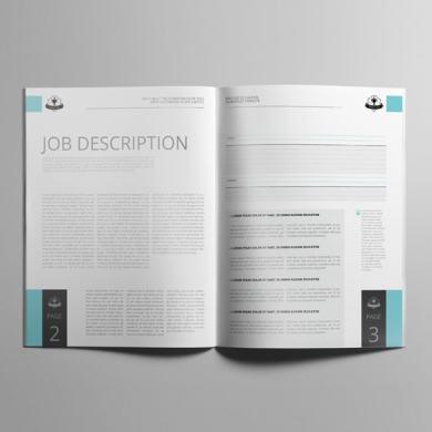 Job Cost Estimation US Letter Booklet Template – kfea 4-min