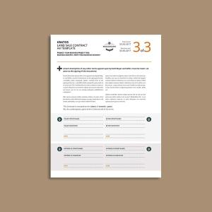 MS Word Land Sale Contract US Letter Template
