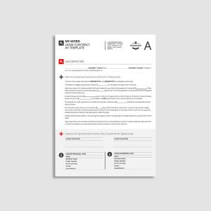 MS Word Lease Contract A4 Template