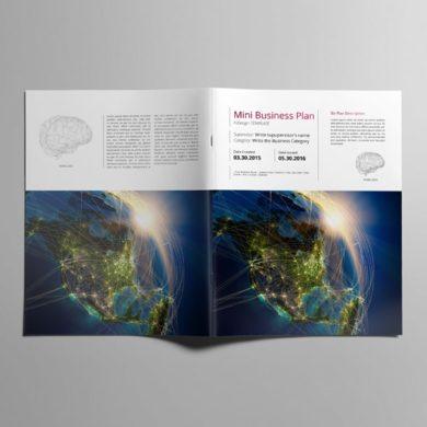 Mini Business Plan US Letter Template – kfea 1-min