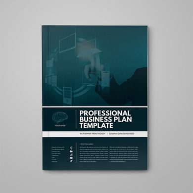 Professional Business Plan Template – kfea 1-min