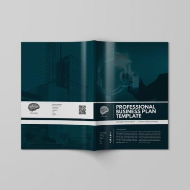 Professional Business Plan Template – kfea 5-min