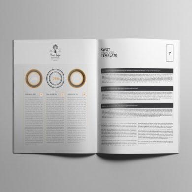 SWOT Analysis Template US Letter – kfea 4-min