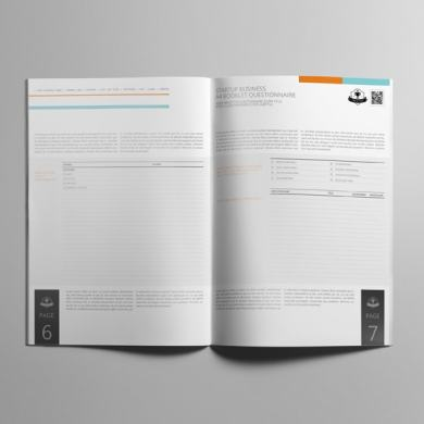 Startup Business A4 Booklet Questionnaire – kfea 1-min