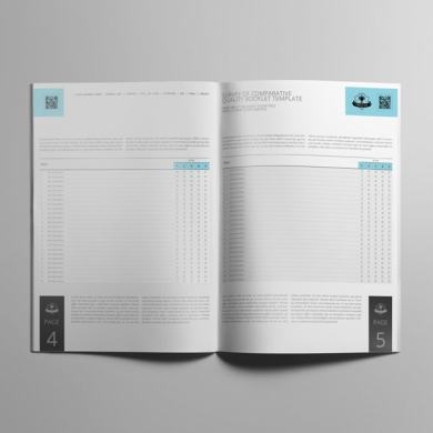 Survey of Comparative Quality Booklet Template – kfea 3-min