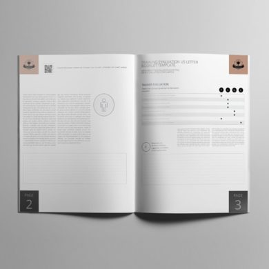 Training Evaluation US Letter Booklet Template – kfea 1-min