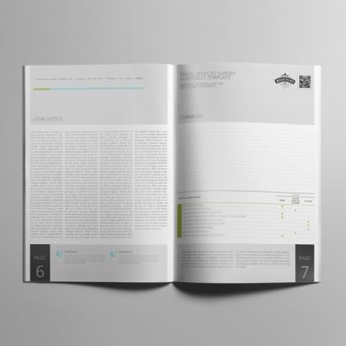 Travel Services Survey A4 Booklet Template – kfea 1-min