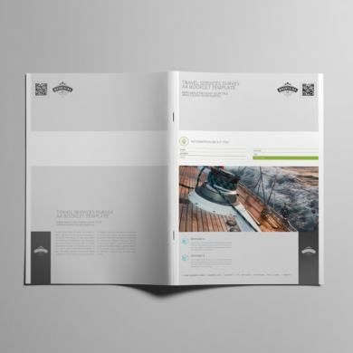 Travel Services Survey A4 Booklet Template – kfea 2-min