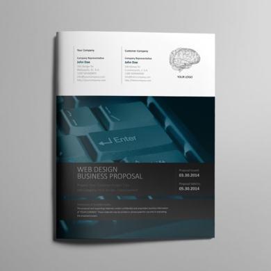 Web Design Proposal Template – US Letter – kfea 1-min