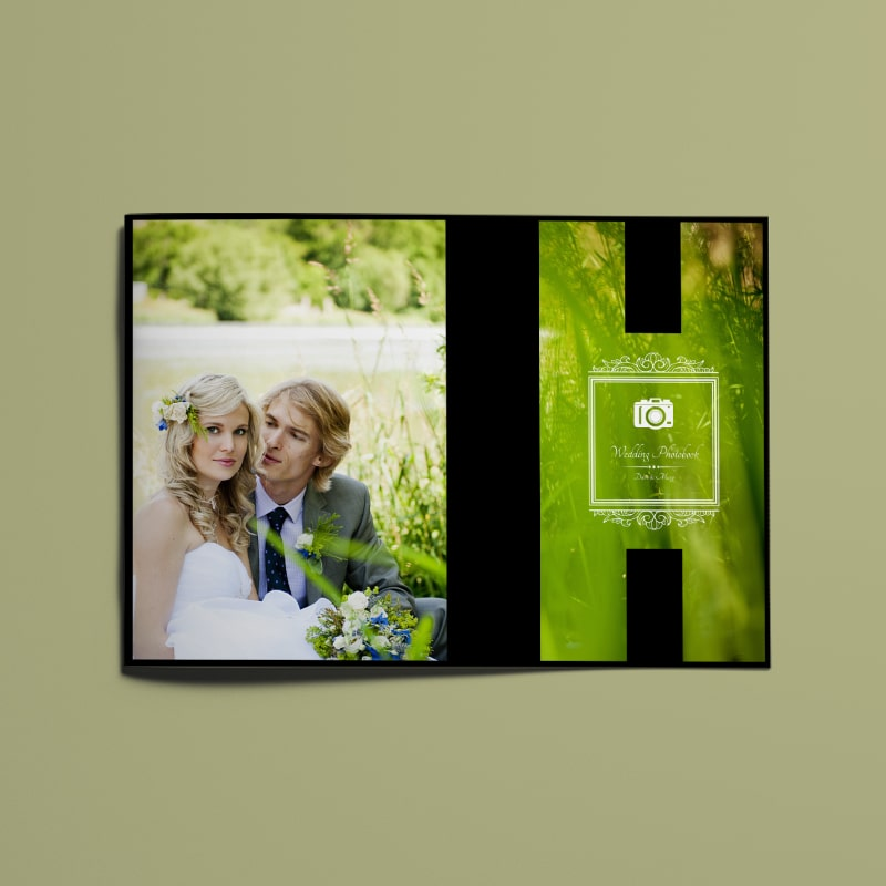 Wedding Photo Album Template A