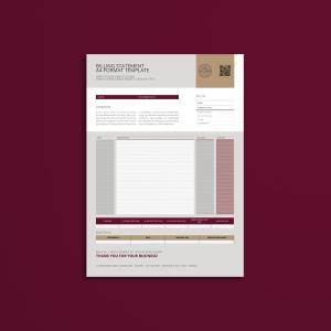 Billing Statement A4 Format Template