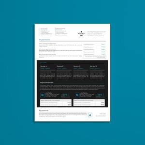 Biz Proposal US Letter Template