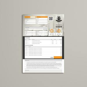Business A4 Invoice Template