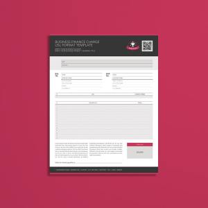 Business Finance Charge USL Format Template
