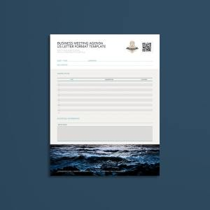 Business Meeting Agenda USL Format Template