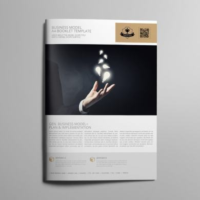 Business Model A4 Booklet Template – kfea 4-min