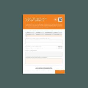 Client Satisfaction Survey Template