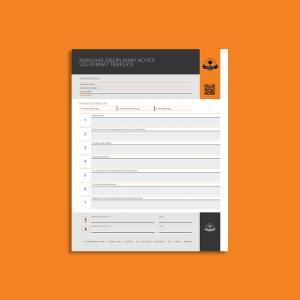 Employee Disciplinary Notice USL Format Template
