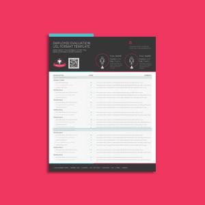 Employee Evaluation USL Format Template