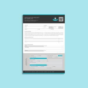 Job Position Request A4 Template