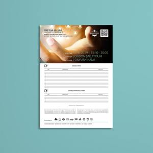 Meeting Agenda Business Template