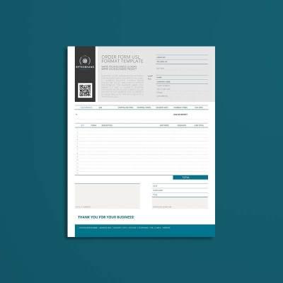 Order Form USL Format Template