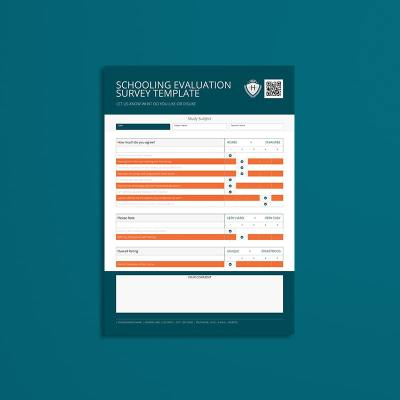 Schooling Evaluation Survey Template