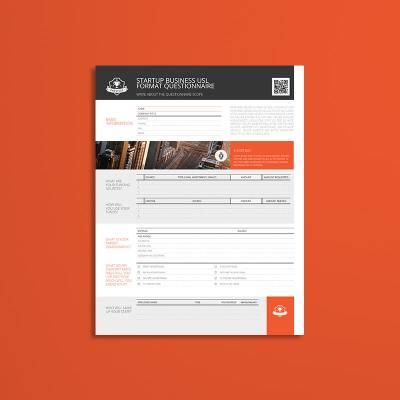 Startup Business USL Format Questionnaire