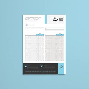Survey of Comparative Quality A4 Template