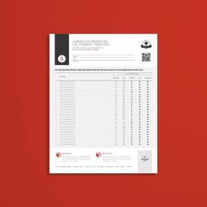Survey of Priorities USL Format Template