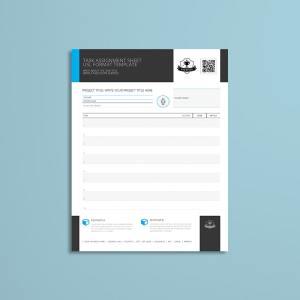 Task Assignment Sheet USL Format Template