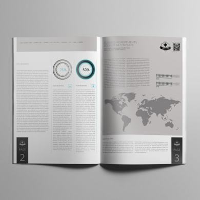 Business Achievements Booklet A4 Template – kfea 3-min