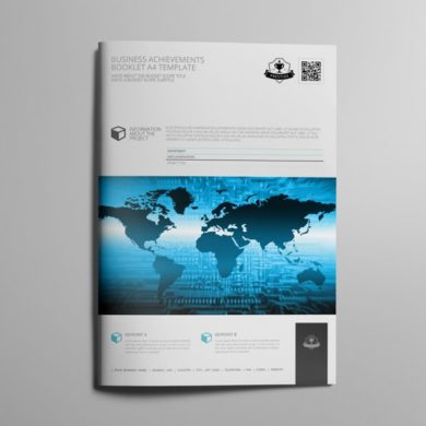 Business Achievements Booklet A4 Template – kfea 4-min