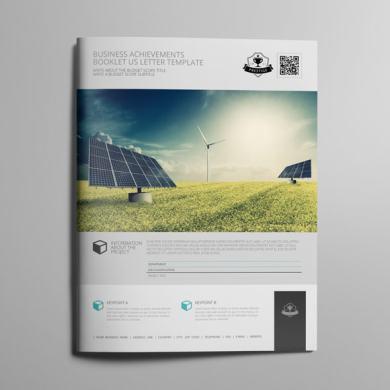 Business Achievements Booklet US Letter Template – kfea 1-min