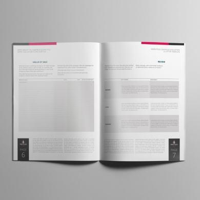 Marketing Campaign Evaluation US Letter Template – kfea 2-min