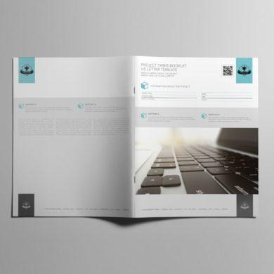 Project Tasks Booklet US Letter Template – kfea 3-min