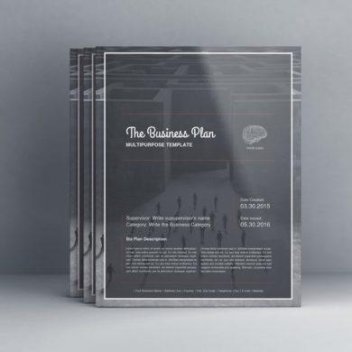 THE Business Plan – Multipurpose Template US Letter – kfea 4-min