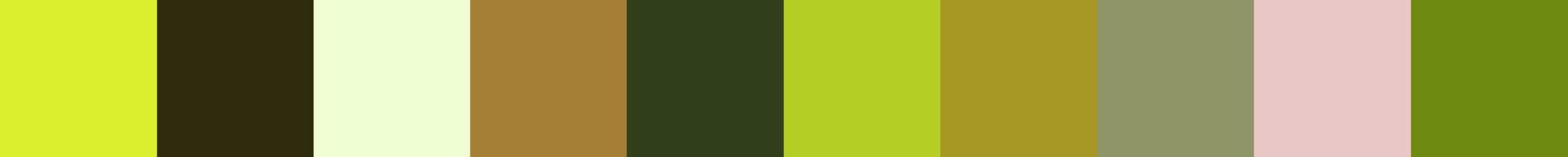 103 Gavana Color Palette