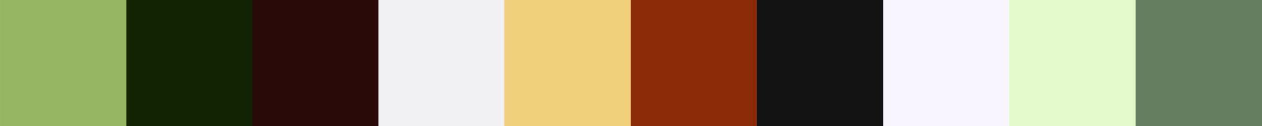 111 Ekernia Color Palette