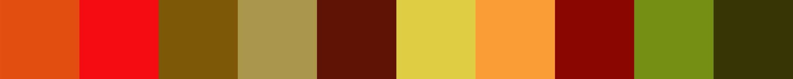 161 Copoliana Color Palette
