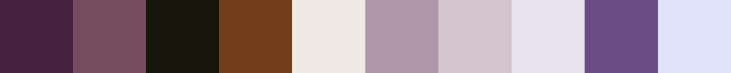 164 Dofaretia Color Palette