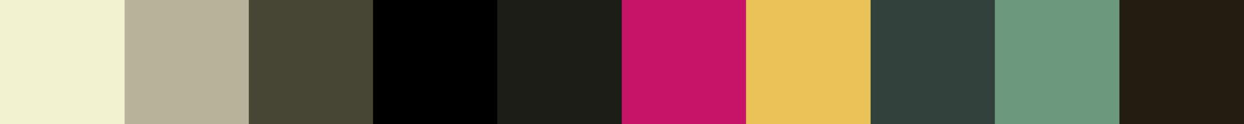 17 Mecebia Color Palette