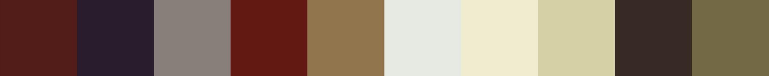 18 Kleidonia Color Palette
