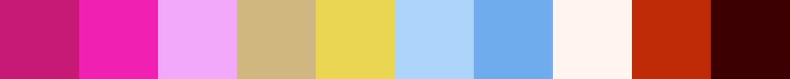 180 Wistrela Color Palette